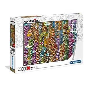 Clementoni Mordillo The Jungle 2000 Pezzi Made In Italy Adulti Puzzle Cartoni 32565