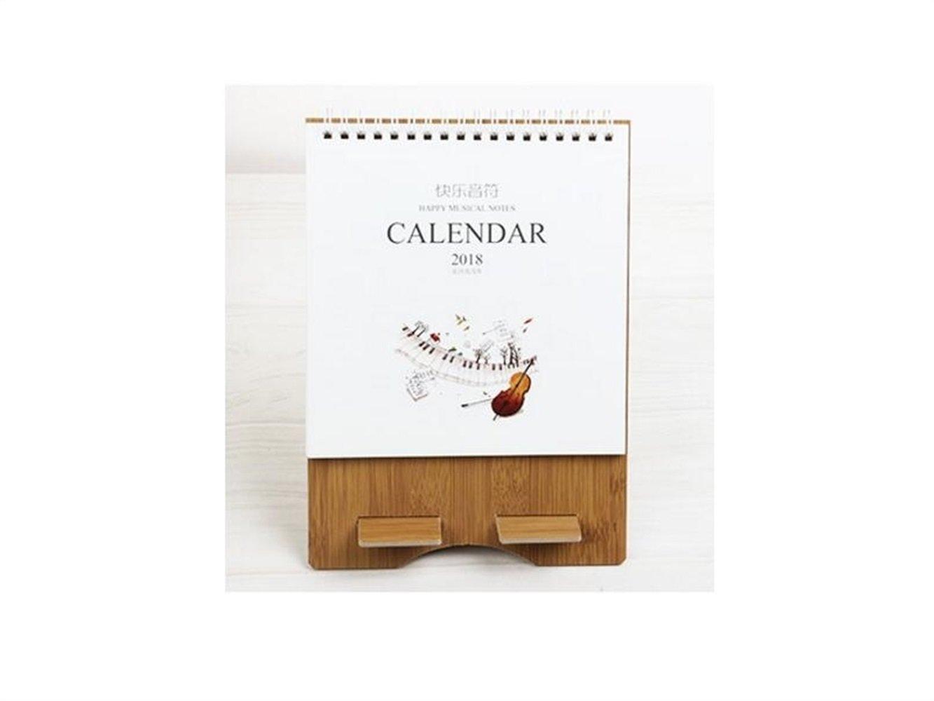 Papelería Calendario Creativo mensual Calendario de Escritorio Calendario Independiente para casa Escolar para la Escuela: Amazon.es: Electrónica