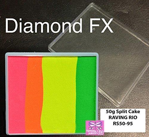 Diamond FX Splitcake 50g Raving Rio