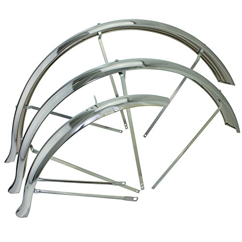 Flared Stander Hollow Trike Conversion Kit Fender Set Chrome, Various Sizes (26