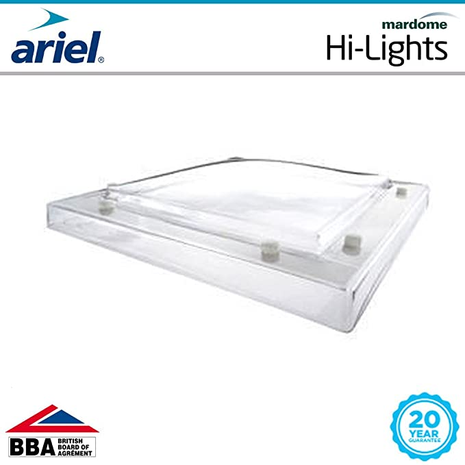 Mardome Roof Dome Single Glazed High Quality Roofing M030-1200x1200 Flat Roof Sky Light Direct Fix to Upstand