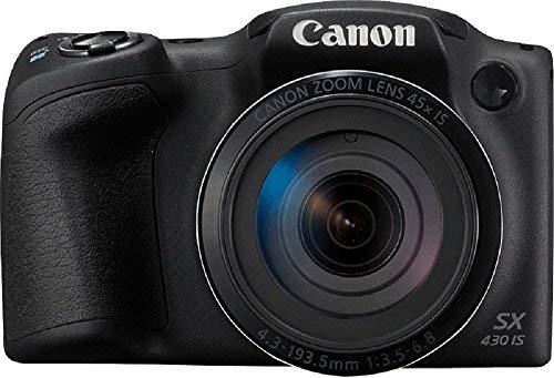 Canon PowerShot SX430 is 20 MP Digital Camera (Black) (International Model No Warranty) (Canon Powershot Best Model)