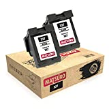 Matsuro Original | Compatible Remanufactured Ink Cartridges Replacement for HP 337 (2 BLACK)