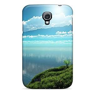 High Quality QoYlrfG2804nqwzQ Nature Green Drawings Tpu Case For Galaxy S4