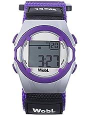 WobL Purple 8 Alarm Vibration Reminder Watch