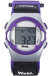 WobL - Purple 8 Alarm Vibrating Reminder Watch