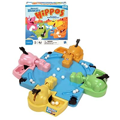Hungry Hungry Hippos Tabletop Game (Packaging May Vary): Toys & Games