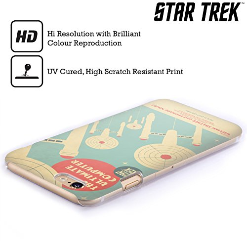Official Star Trek The Ultimate Computer Juan Ortiz Posters TOS Hard Back Case for Apple iPhone 6 Plus / 6s Plus by Head Case Designs (Image #2)