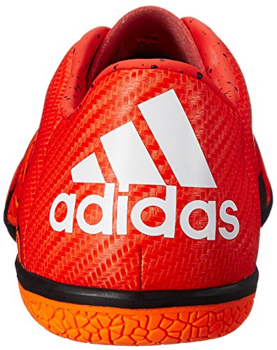 Adidas Performance X 15.3 en el fútbol de zapatos, Negrita naranja / blanco / naranja solar, 6,5 M Bold Orange/White/Solar Orange