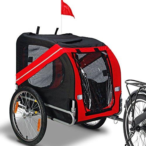 Trailer Hitch Drawbars - New Folding Safety Pet Carrier Bicycle Trailer Dog Cat Bike Carrier w/Drawbar Hitch