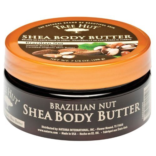 Tree Hut Brazillian Nut Shea Body Butter 7 oz (198 - Brazillian Hut