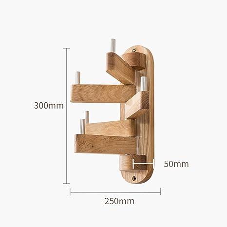 Árbol de madera maciza estantes, Dormitorio minimalista ...