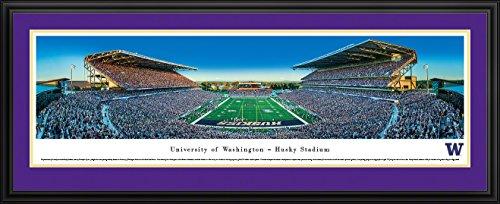 Washington Huskies Football - End Zone - Blakeway Panoramas Print