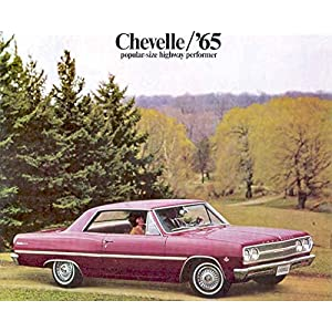 1965 Chevrolet Chevelle Sales Brochure