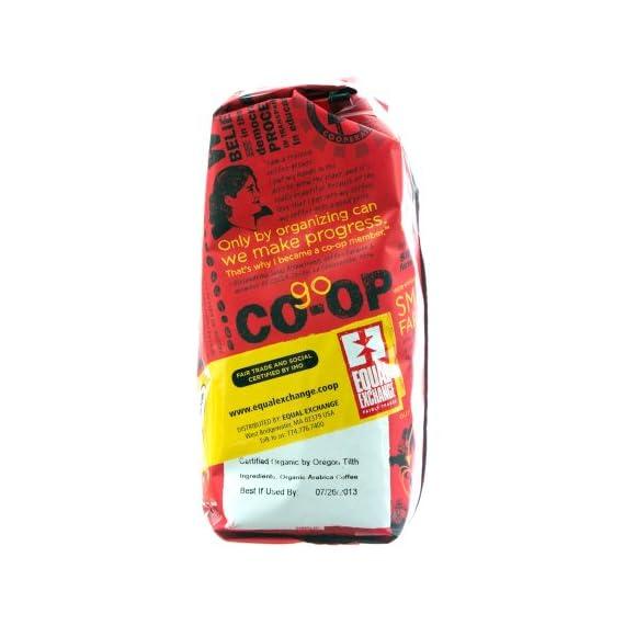 Whole bean organic coffee breakfast blend equal exchange 12 oz bag 3 equal exchange breakfast blend whole bean coffee (6x12 oz)