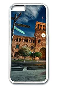 Street signs Polycarbonate Hard Case Cover for iphone 6 plus 5.5inch Transparent