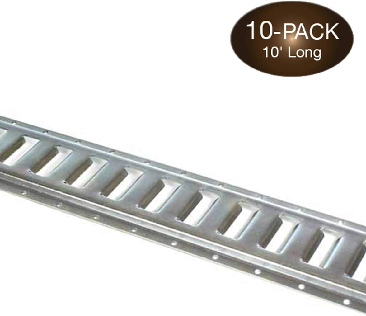Truck Van Homend 10pack Steel E-Track D Ring Tie-Down Anchors w//E Track Spring Fitting Attachments Anchor Logistic Straps to Tie Down Cargo Loads to ETrack Rails in Utility//Enclosed Trailer