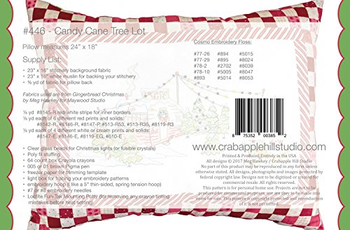 Amazon Com Candy Cane Tree Lot Christmas Embroidery Pattern By Meg