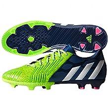 Adidas Predator Absolion Instinct FG Soccer Cleat (Solar Green, Rich Blue) Sz. 6.5