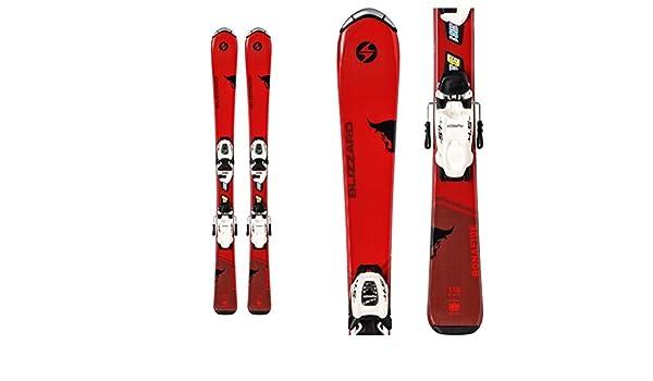 Amazon.com   Blizzard Bonafide Jr. Kids Skis FDT 4.5 Bindings   Sports    Outdoors db3dfe6ab