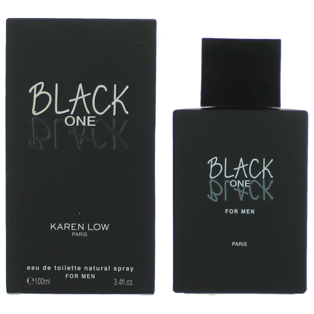 Black One By Karen Low for Men 3.4 Oz Edt Spray