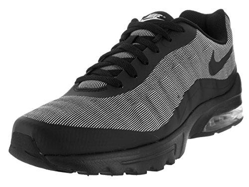 Nike Air Max Invigor Prem, Zapatillas de Running para Hombre Negro / Blanco (Black / Black-White)