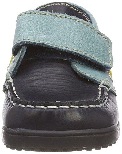 Naturino Jungen 4110 Mokassin Mehrfarbig (Blue-Jeans-Giallo)