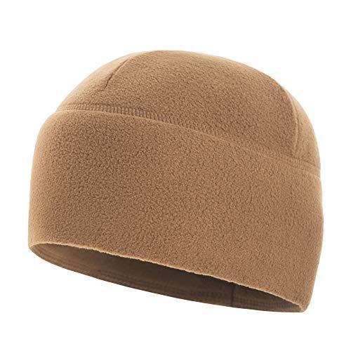 M-Tac Watch Cap Fleece 260 Slimtex Mens Winter Hat Military Tactical Skull Cap Beanie (Medium, Coyote) ()