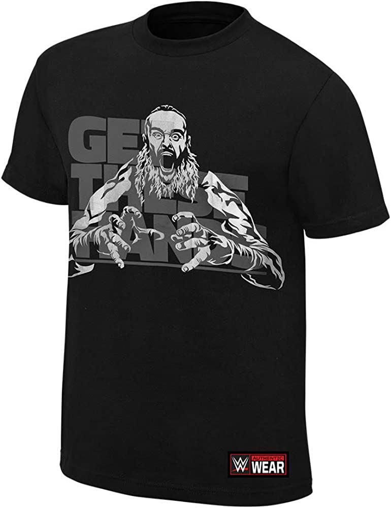 Braun Strowman Get These Hands Reflective T-Shirt Black Large