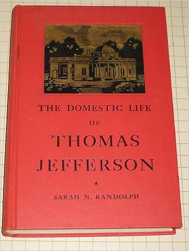 Family thomas life jefferson What Is