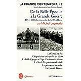 FRANCE CONTEMP.DE BELLE ÉPOQUE À GDE GUERRE 1893 A
