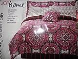 Jcp Home Medallion Bedding Ensemble 6 Pcs Twin Comforter Set