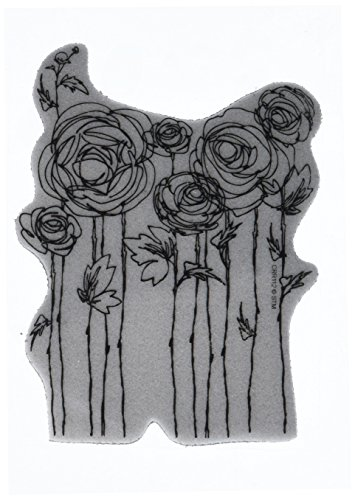 Dauber Stamp (STAMPENDOUS Cling Rubber Stamp-Ranunculus Field)
