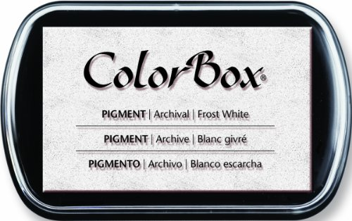 ColorBox Full Size Pigment Ink Pad: Frost - Colorbox Crafters Ink Pigment