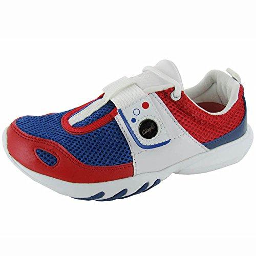 Glagla Unisex Klassiska Sneaker Skor Flagga Blå
