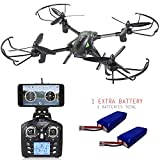 BLACK FRIDAY DEAL! Contixo F6 RC Quadcopter Racing Drone 2.4Ghz 6-Axis Gyro 720P Rotating HD Video Wifi Camera Live FPV Headless Mode 2 Batteries included 360 Stunts 18min Fly Time VR Compatible