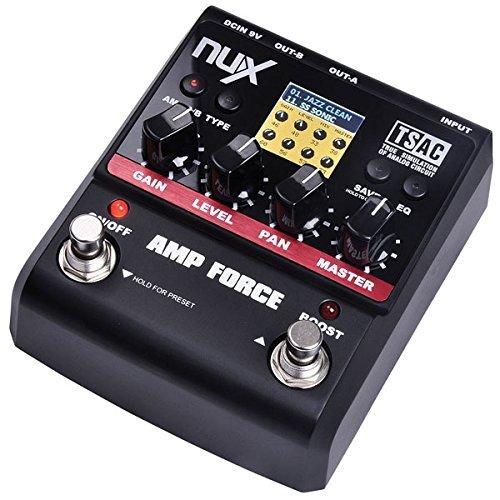 NUX MOD-FORCE Nux Effektpedal für Gitarren Mod Force