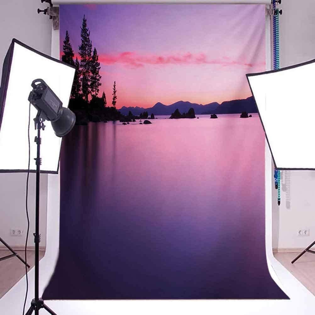 Nature 8x10 FT Backdrop Photographers,Old Narrow Floating Walkway in The Lake Surrounded by Reeds Greenland Nature Theme Background for Child Baby Shower Photo Vinyl Studio Prop Photobooth Photoshoot