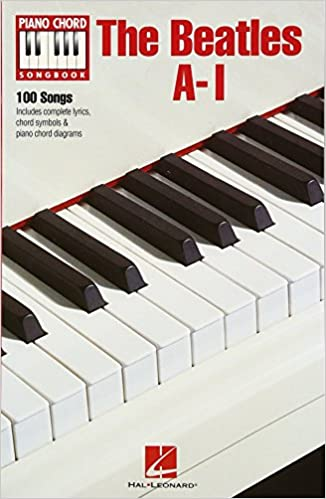 The Beatles A I Piano Chord Songbooks The Beatles 0884088509095
