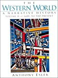 The Western World: A Narrative History, 1600s to the Present, Volume II 013495615X Book Cover