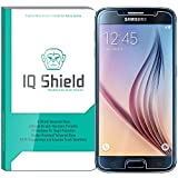 Galaxy S6 Screen Protector, IQ Shield Tempered Ballistic Glass Screen Protector for Galaxy S6 99.9% Transparent HD and Anti-Bubble Shield - with