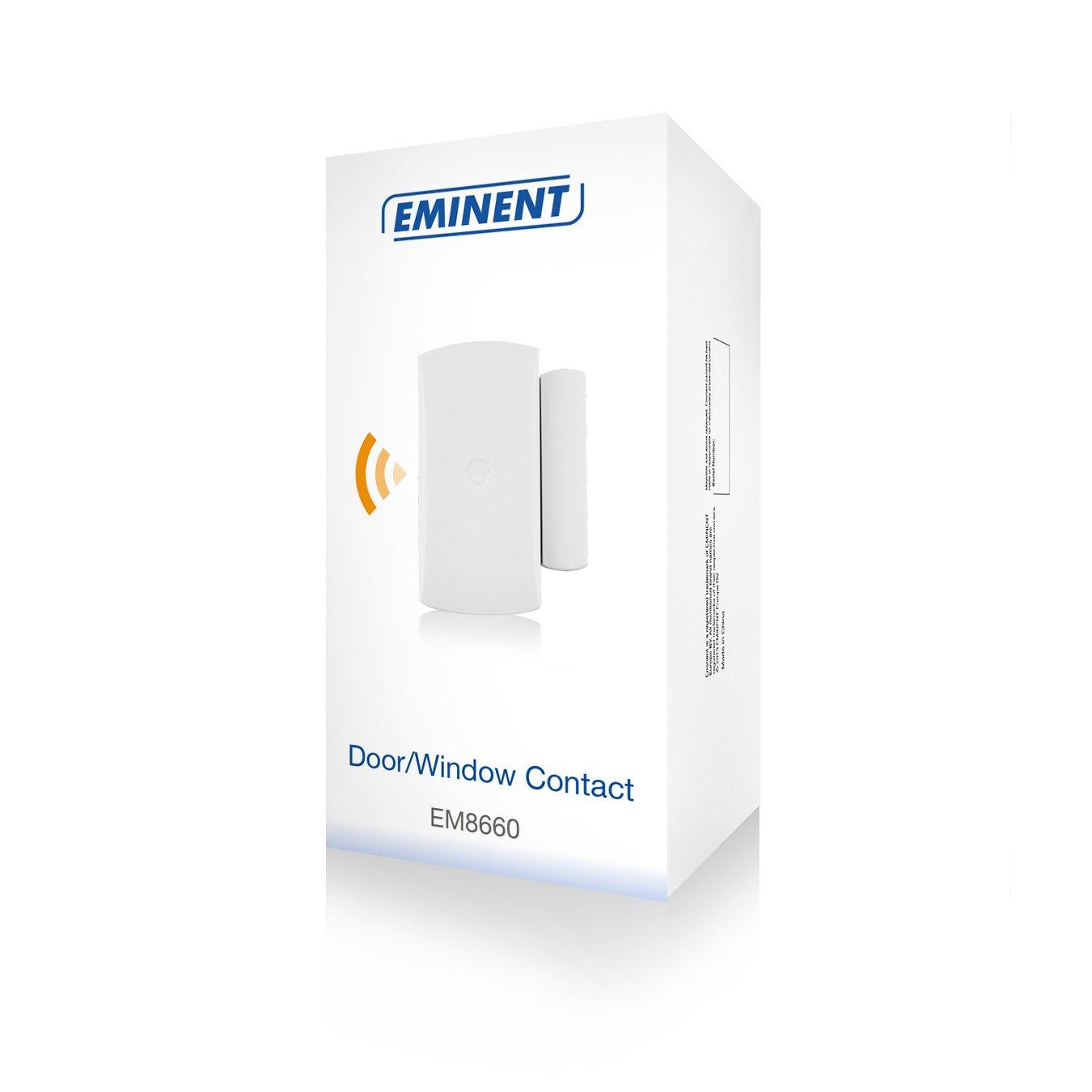 Eminent EM8660 - Alarma inalámbrica, contacto magnético