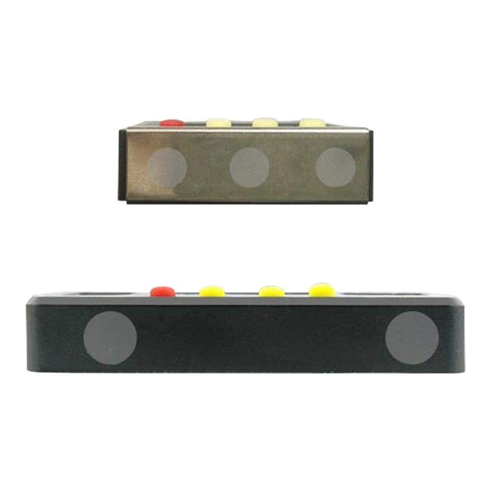Indicatore di Livello Ritapreatty Indicatore di Livello elettronico Digitale di Livello Magnetico Inclinometro Orizzontale Angolo Righello 100mm 150mm 200mm