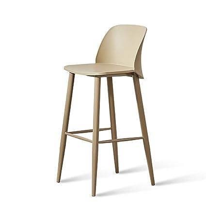 Bar Chairs Iron Bar Stool Modern Minimalist High Stool Bar Chair Lift Bar Stool Home Back Stool Nordic Bar Chair