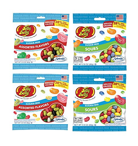 Jelly Belly Sugar Free Jelly Beans Variety Gift Box - Assorted and Sours