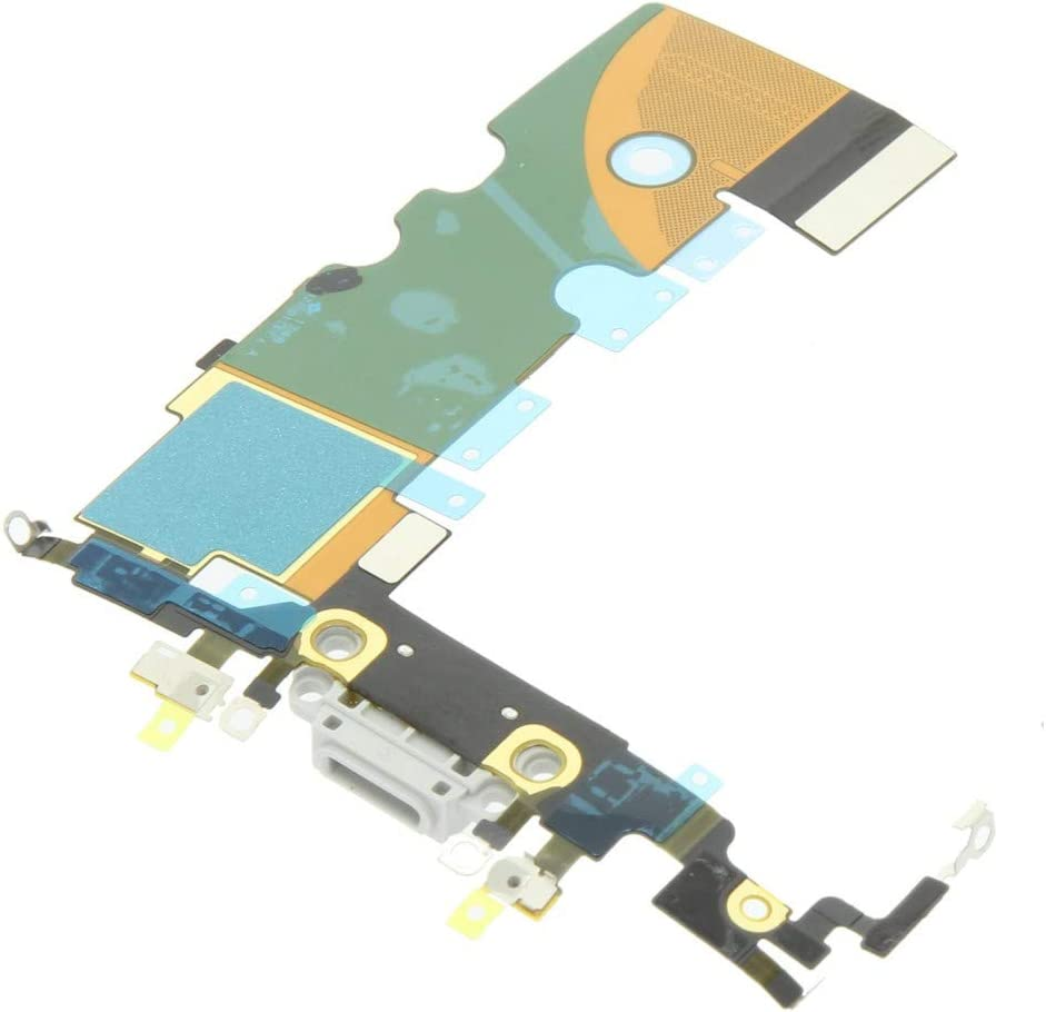 Phones Replacement Parts gaixample.org White Charging Port Flex ...