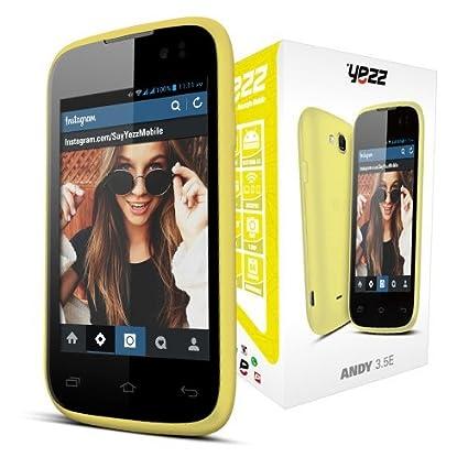 Amazon.com: YEZZ Andy 3.5E teléfono desbloqueado de fábrica ...