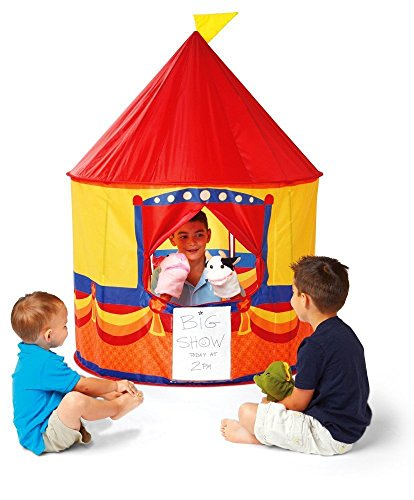 Kidoozie Pop-Up Theater Tent  Fun and Safe Play for Children of All Ages