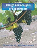Design and Analysis of Experiments 9780470128664