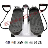 Aerobic Fitness Step Air Stair Climber Stepper Exercise Machine Equipment Black